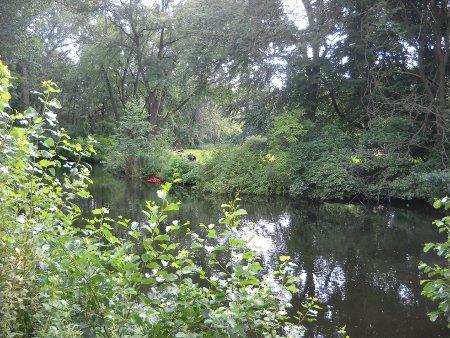 Der Park Tiergarten in Berlin