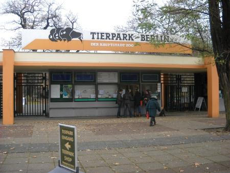 Tierpark Friedrichsfelde Eingang