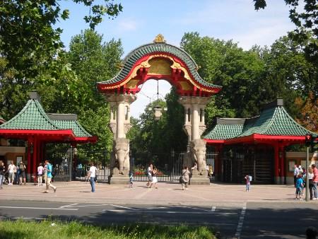 Eingang Zoo Berlin